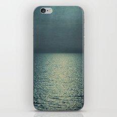 sea - sunset blue iPhone & iPod Skin
