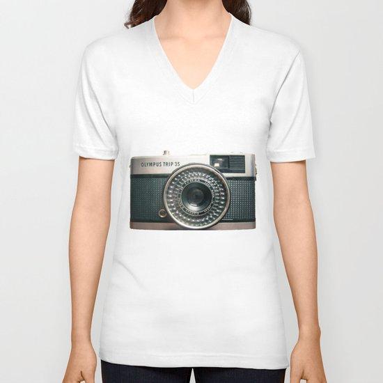 Vintage V-neck T-shirt