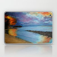 Tropical Sunset Laptop & iPad Skin