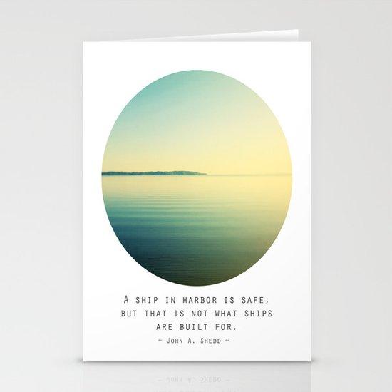 A Ship Stationery Card