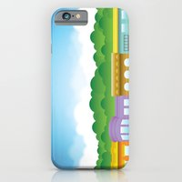 iPhone & iPod Case featuring Brooklyn Brownstones by Armistead Booker