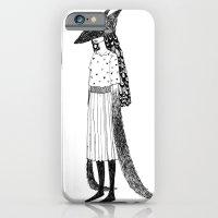 Wolf Mask iPhone 6 Slim Case