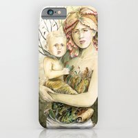 Mother Earth to her child iPhone 6 Slim Case