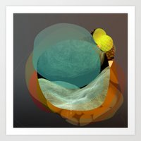the abstract dream 22 Art Print