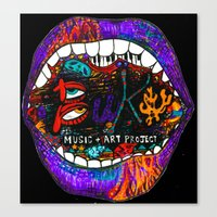 Buku Music & Art Project Canvas Print