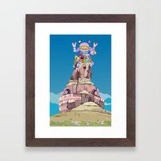 BEN LESSA SATINI Framed Art Print