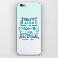 Camus on Passion iPhone & iPod Skin