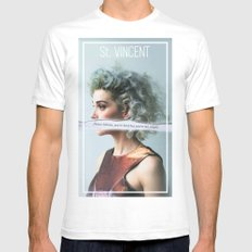 St. Vincent - Annie Clark Mens Fitted Tee White SMALL