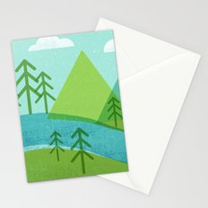 Roll On Columbia Stationery Cards
