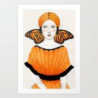 Art Print featuring Anais by Sofia Bonati