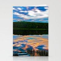 Evening Reflection Stationery Cards