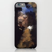 iPhone & iPod Case featuring Panelscape Iconic  - Girl with a Pearl Earring by ⊙ Paolo Tonon