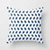 Rhombus Bomb In Monaco B… Throw Pillow