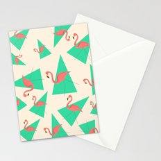 Crazy Flamingos Stationery Cards