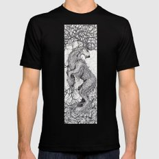 Old Growth Mens Fitted Tee Black SMALL