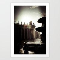 Around Rome Art Print