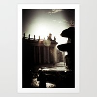 Around Rome Art Print