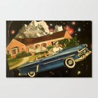 Suburban Cosmos Canvas Print