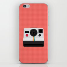 Polaroid One Step Land Camera iPhone & iPod Skin