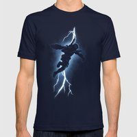 The Bounty Hunter Return… Mens Fitted Tee Navy SMALL