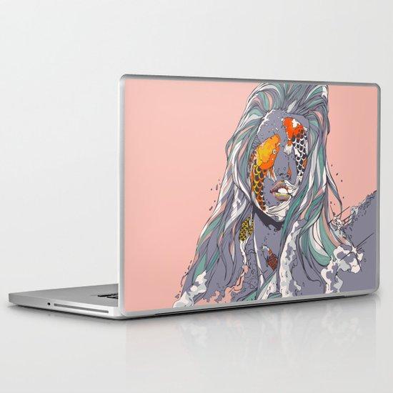 Koi and Raised Laptop & iPad Skin