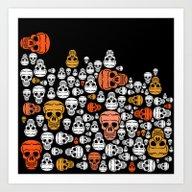 Art Print featuring Halloween by Mark Ashkenazi