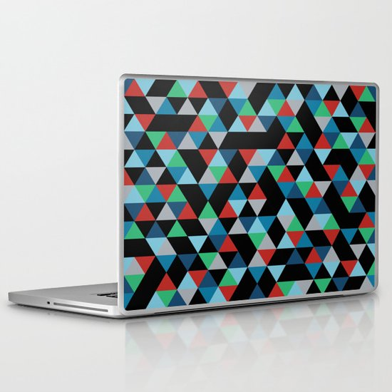 Triangles 4B Laptop & iPad Skin
