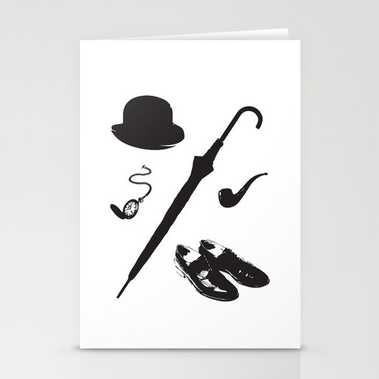 Gentleman's Accoutrements Stationery Card