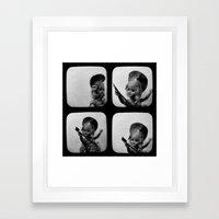 Little Lizzie Borden TtV II Framed Art Print