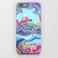 iPhone & iPod Case featuring Somewhere Over The Rainbow by Monika Strigel