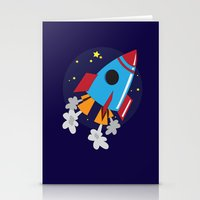 Space Cruiser Stationery Cards