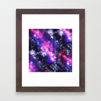 Tribal Galaxy Framed Art Print