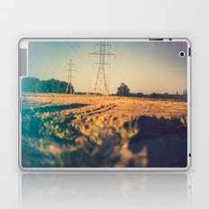 Stems and gears, oh how the daisies bloom Laptop & iPad Skin