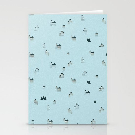let it snow Stationery Card