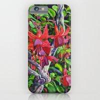 Hanging Fuchsia iPhone 6 Slim Case