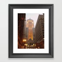 The Chicago Board Of Tra… Framed Art Print