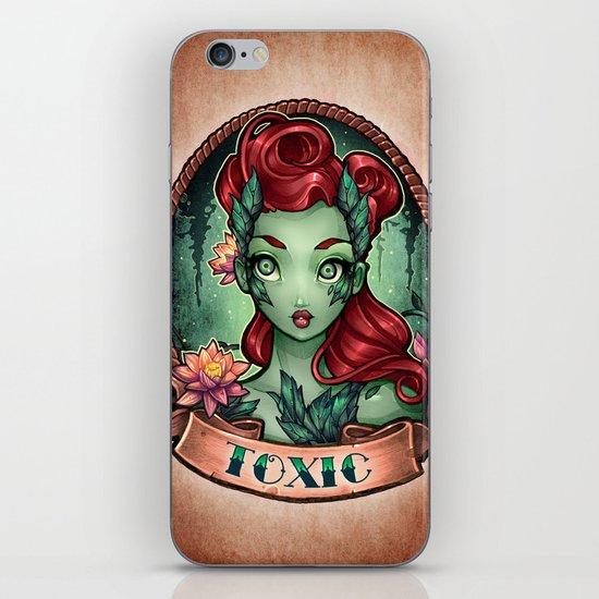 TOXIC pinup iPhone & iPod Skin