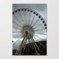 'round We Go Canvas Print