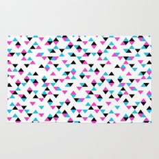 Electric Triangles Rug