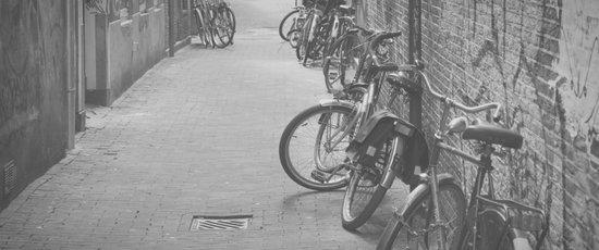 amsterdam bicycles... Canvas Print