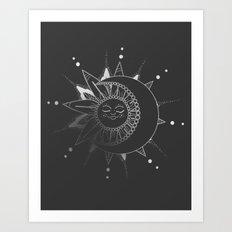 Mandala Sun Art Print