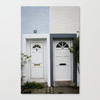Front Doors Canvas Print