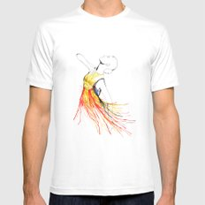 Yulia Mens Fitted Tee White SMALL