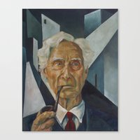 Bertrand Russell Canvas Print