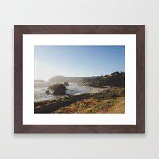 Gold Beach, Oregon Framed Art Print
