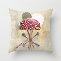 Mangez Moi ! Throw Pillow
