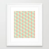 Patterns on Patterns Framed Art Print