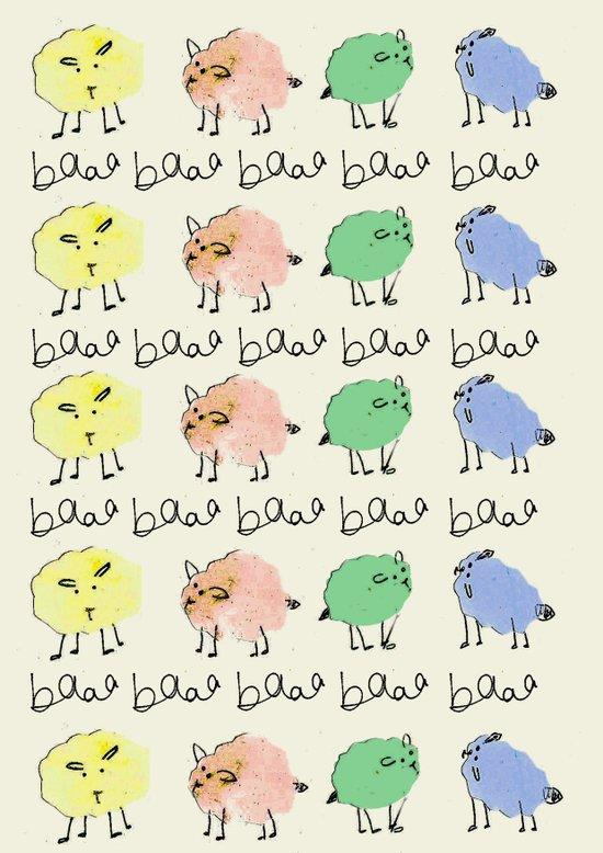 Baaa Art Print