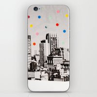 citydots iPhone & iPod Skin