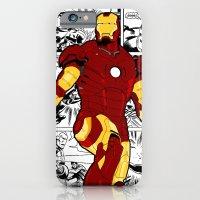Iron Man Comic iPhone 6 Slim Case